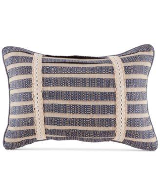"Kayden 19"" x 13"" Pieced Stripe Boudoir Decorative Pillow"