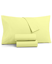 CLOSEOUT! Charter Club Sleep Soft 3-Pc Twin Sheet Set, 300-Thread Count 100% Cotton, Created for Macy's