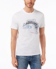 Silver Jeans Co. Men's Wave Logo T-Shirt