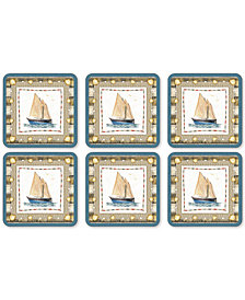 Pimpernel Coastal Breeze Set of 6 Coasters