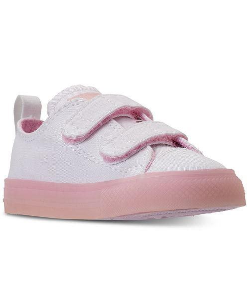 458534da8cc8 ... Converse Toddler Girls  Chuck Taylor All Star Ox Casual Sneakers from  Finish ...