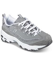 Skechers Women's D'Lites - Me Time Walking Sneakers from Finish Line