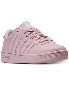 K-Swiss Big Girls' Classic Pro Casual Sneakers from Finish Line