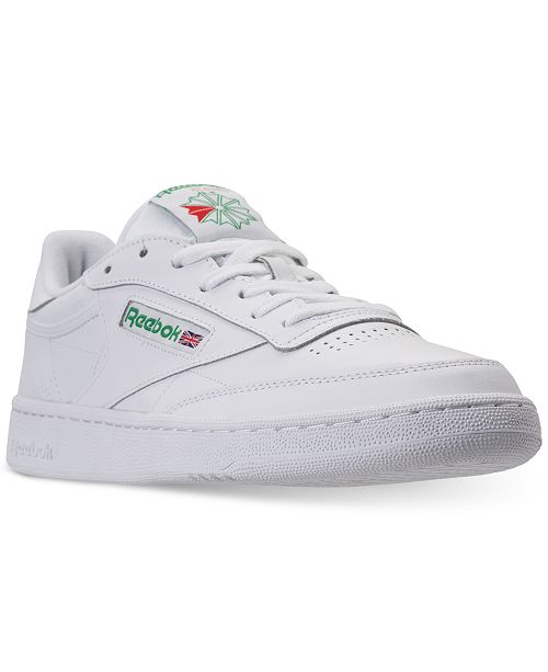 Reebok Men's Club C 85 Casual Sneakers from Finish Line