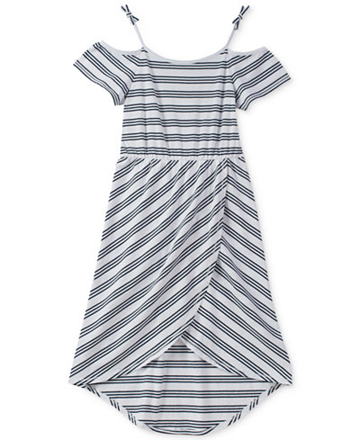 Tommy Hilfiger Striped Maxi Dress, Big Girls
