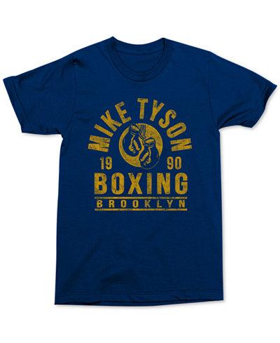 Changes Men's Mike Tyson Boxing Graphic-Print T-Shirt