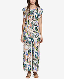 Sanctuary Antonella Printed Flutter-Sleeve Jumpsuit