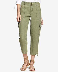 Sanctuary Sasha Cotton Cropped Cargo Pants