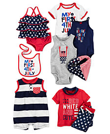 Carter's Bibs, Bandanas, Bodysuits, Rompers & Swimsuits, Baby Boys or Girls