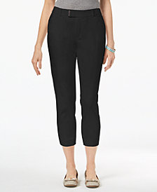 Charter Club Embellished Cropped Pants, Created for Macy's