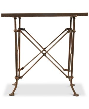 "Image of 20""H Bronze Metal Table"