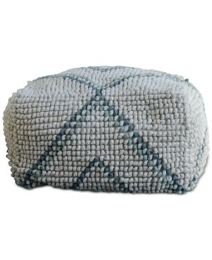 "Image of 24"" Square New Zealand Pouf"
