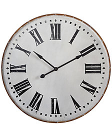 3R Studio Round Metal Wall Clock