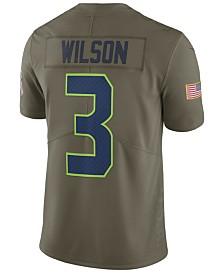 Nike Men's Russell Wilson Seattle Seahawks Salute To Service Jersey