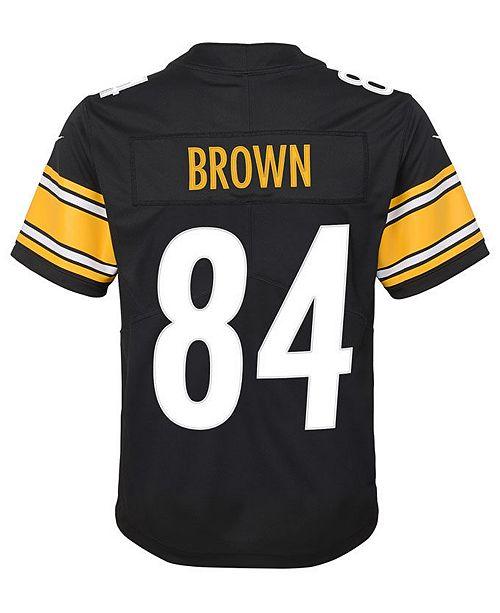 3ddc2ac0c ... Nike Antonio Brown Pittsburgh Steelers Limited Team Jersey