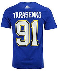 adidas Men's Vladimir Tarasenko St. Louis Blues Silver Player T-Shirt