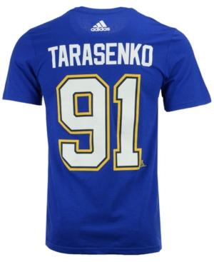 image of adidas Men-s Vladimir Tarasenko St. Louis Blues Silver Player T-Shirt