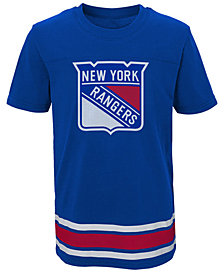 Outerstuff New York Rangers Captain T-Shirt, Big Boys (8-20)