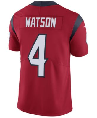 eca5a6d9d Nike Men s DeShaun Watson Houston Texans Vapor Untouchable Limited Jersey -  Sports Fan Shop By Lids - Men - Macy s