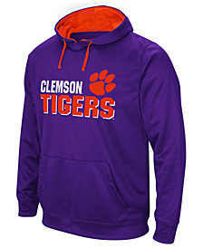 Colosseum Men's Clemson Tigers Stack Performance Hoodie