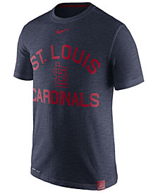 Nike Men's St. Louis Cardinals Dri-Fit Slub Arch T-Shirt