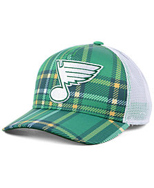 adidas St. Louis Blues St. Patrick's Day Adjustable Cap