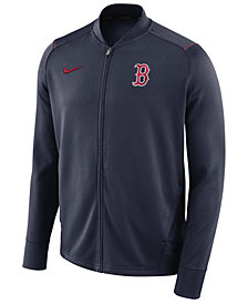 Nike Men's Boston Red Sox Dry Knit Track Jacket