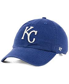 '47 Brand Kansas City Royals Timber Blue CLEAN UP Cap