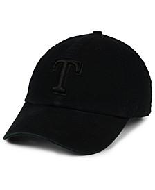 Texas Rangers Black on Black CLEAN UP Cap