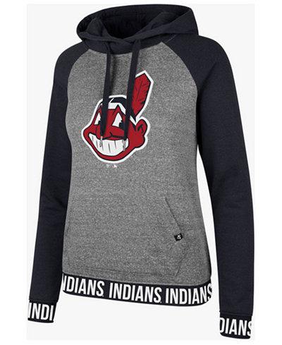 '47 Brand Women's Cleveland Indians Encore Revolve Hoodie