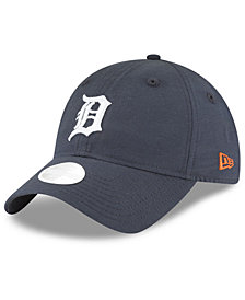 New Era Detroit Tigers Team Linen 9TWENTY Strapback Cap