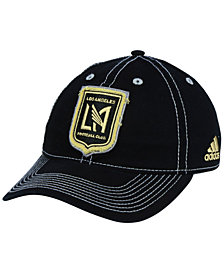 adidas Los Angeles Football Club Sand Blast Adjustable Cap