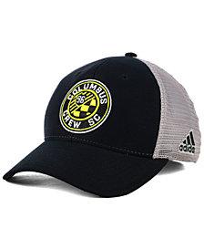 adidas Columbus Crew SC Mesh Flex Cap