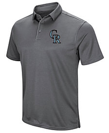 Under Armour Men's Colorado Rockies Tech Polo