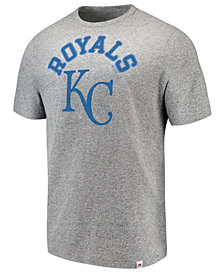 Majestic Men's Kansas City Royals Twisted Stripe T-Shirt