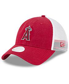 New Era Los Angeles Angels Trucker Shine 9TWENTY Cap