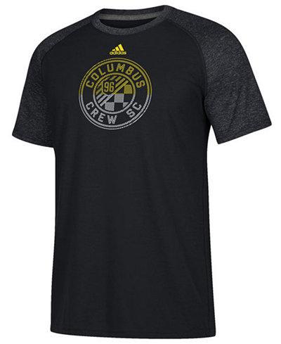 adidas Men's Columbus Crew SC Redirection Logo T-Shirt