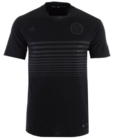 adidas Men's New York City FC Black Out T-Shirt