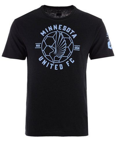 adidas Men's Minnesota United FC Linear Icon Tri-Blend T-Shirt