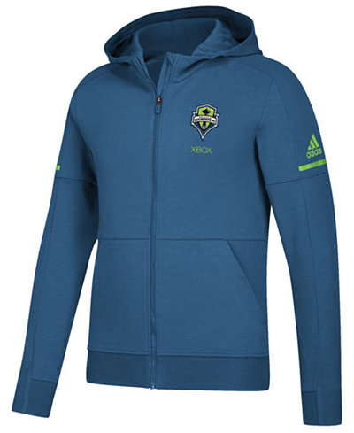 adidas Men's Seattle Sounders FC Travel Jacket