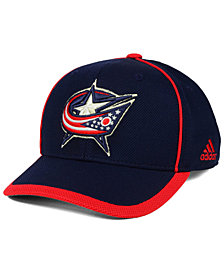 adidas Columbus Blue Jackets Clipper Adjustable Cap