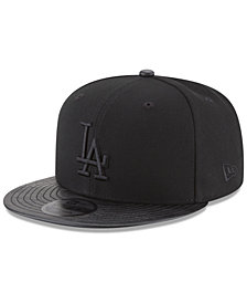 New Era Los Angeles Dodgers Blackedout Camo Pressed 9FIFTY Snapback Cap