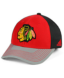 adidas Chicago Blackhawks 2Tone Stitch Flex Cap