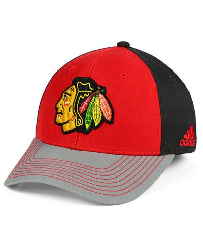 adidas Chicago Blackhawks 2Tone Stitch Flex Cap