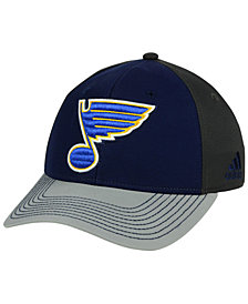 adidas St. Louis Blues 2Tone Stitch Flex Cap