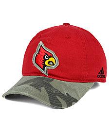adidas Louisville Cardinals Camo Code Slouch Cap