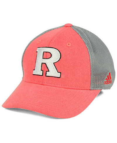 adidas Rutgers Scarlet Knights Faded Flex Cap