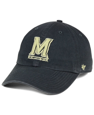 '47 Brand Maryland Terrapins Double Out CLEAN UP Cap