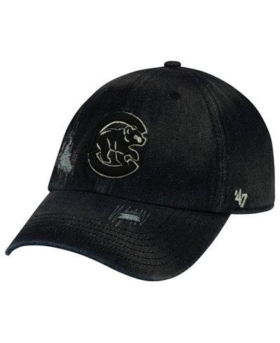 '47 Brand Chicago Cubs Dark Horse CLEAN UP Cap