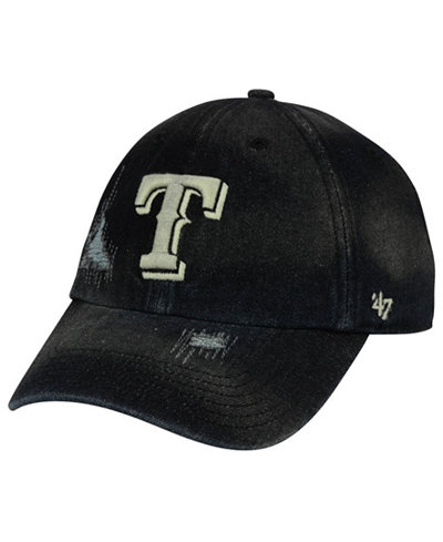 '47 Brand Texas Rangers Dark Horse CLEAN UP Cap